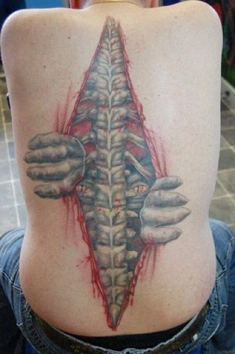 16_Cool 3D Tattoo