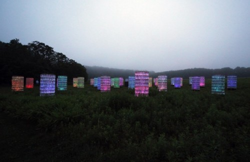 4_Stunning Light Installations by Bruce Munro