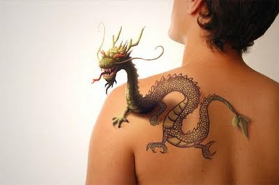 3D tattoos  Fashionable designs