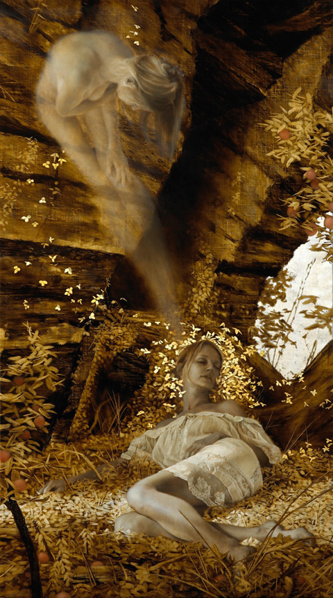 11_Leaf Paintings by Brad Kunkle