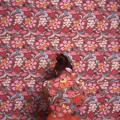 12_Camouflaged Self Portraits by Cecilia Paredes