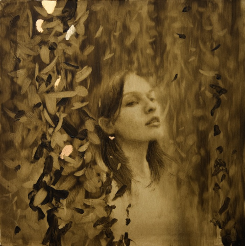 12_Leaf Paintings by Brad Kunkle