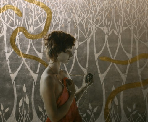 13_Leaf Paintings by Brad Kunkle