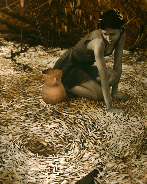 14_Leaf Paintings by Brad Kunkle