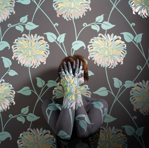 16_Camouflaged Self Portraits by Cecilia Paredes