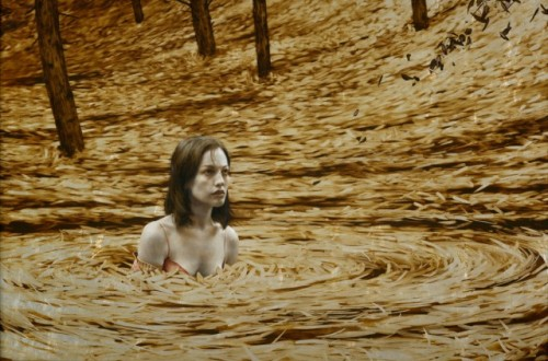 3_Leaf Paintings by Brad Kunkle
