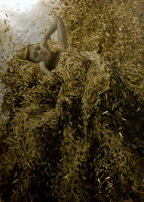 6_Leaf Paintings by Brad Kunkle