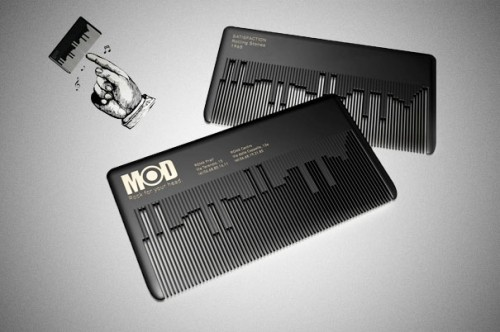 6_Musical Comb Business card