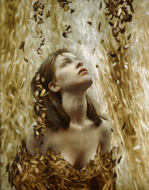 9_Leaf Paintings by Brad Kunkle