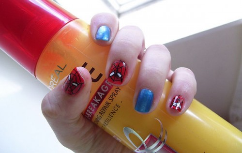 23_Spiderman Nails