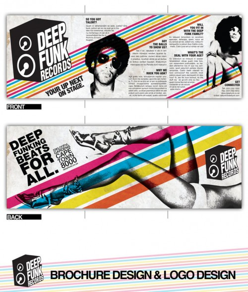 25_Deep Funk Records Brochure