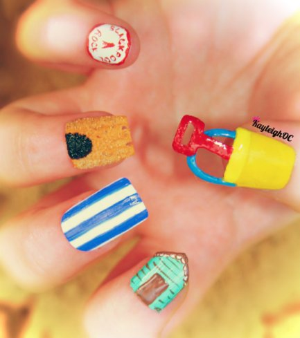 2_Seaside Nail Art