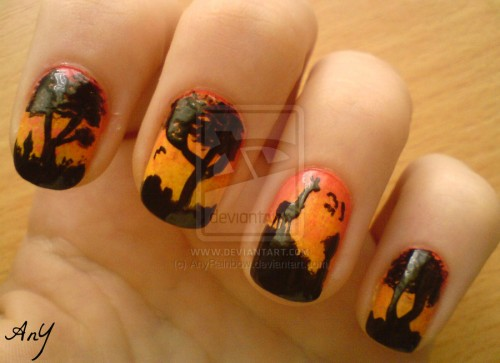 5_Africa Nail Design