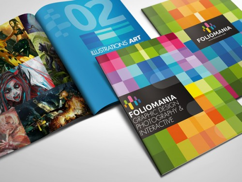 7_Foliomania - The Designer Portfolio Brochure