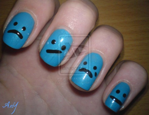 9_Sad Nail Design