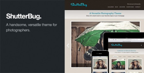 12_ShutterBug - Responsive Photography WordPress Theme