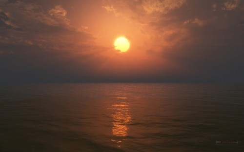 13_Ocean 3D Widescreen Wallpaper