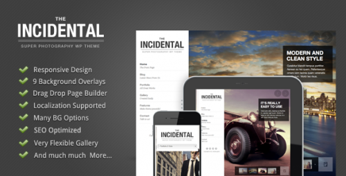 14_Incidental - High Class Photography WP Theme