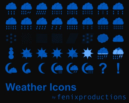 14_Weather Icons