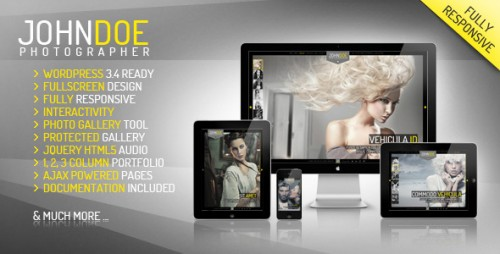 15_J.Doe Responsive Photography Wordpress Theme