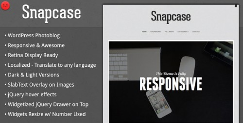 16_Snapcase - Responsive WordPress Photoblog Theme