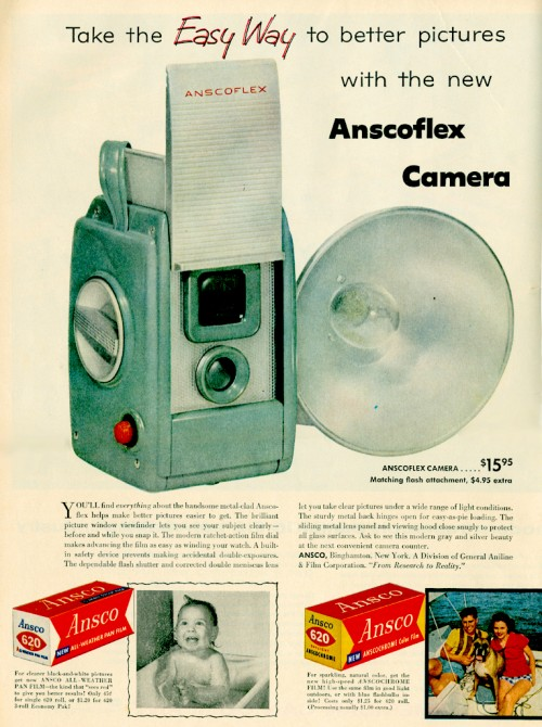 18_Anscoflex Camera Ad 1955