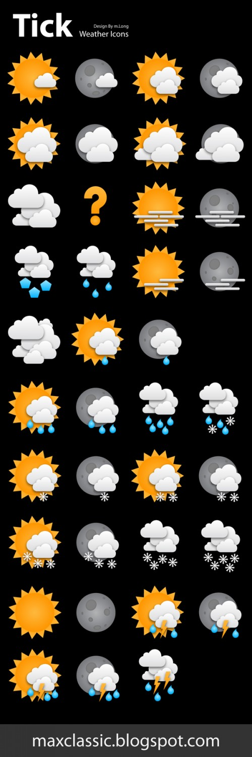 18_Tick Weather Icons