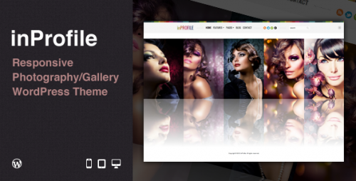 18_inProfile - Responsive Photography, Gallery WP Theme