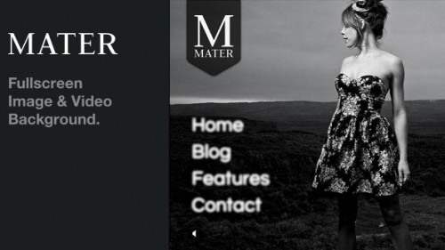 1_Mater - Fullscreen Image & Video Background WP