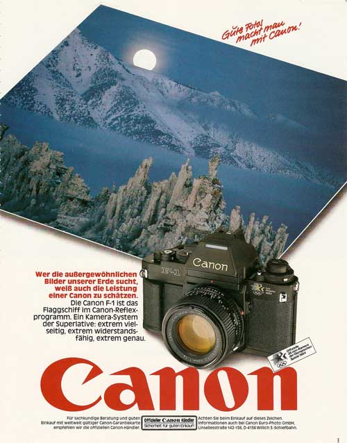 20_Canon F-1 SLR (1984)