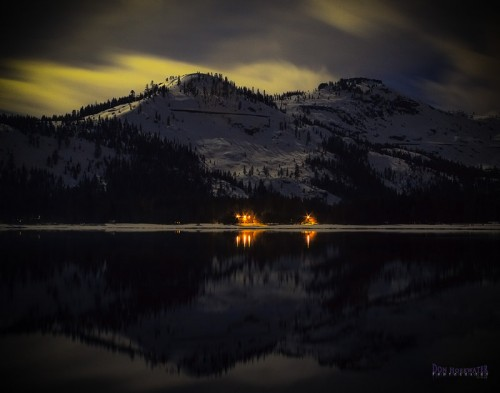 21_Nighttime at Donner Lake
