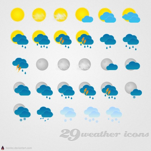 23_29 Weather Icons