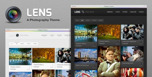 23_Lens, the Ultimate WordPress Photography Theme