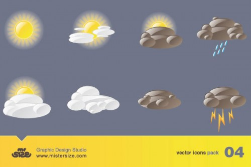 26_Weather Free Vector Icons Pack