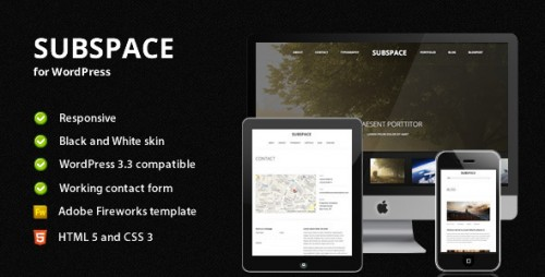 29_Subspace - Portfolio WordPress Theme