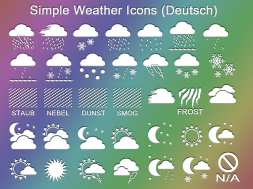32_Simple Weather Icons