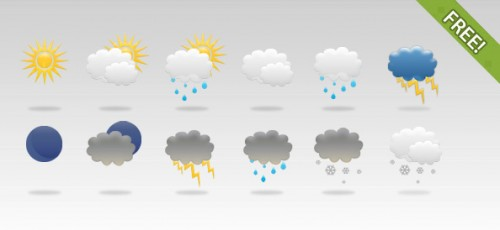 33_12 Free Weather Icons