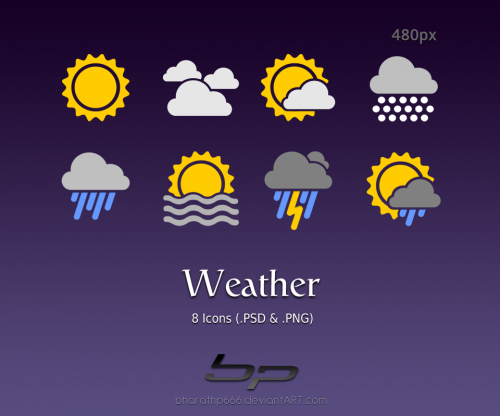 35_Android Weather Icons