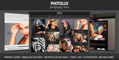 38_Photolux - Photography Portfolio WordPress Theme