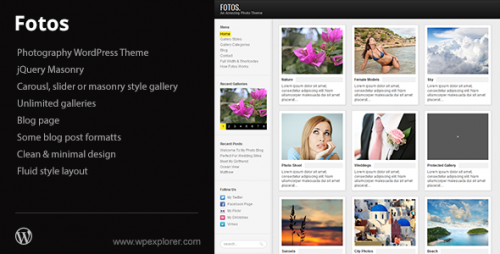 43_Fotos Photography & Masonry Blog WordPress Theme