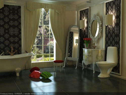 43_Old Style Bathroom Design