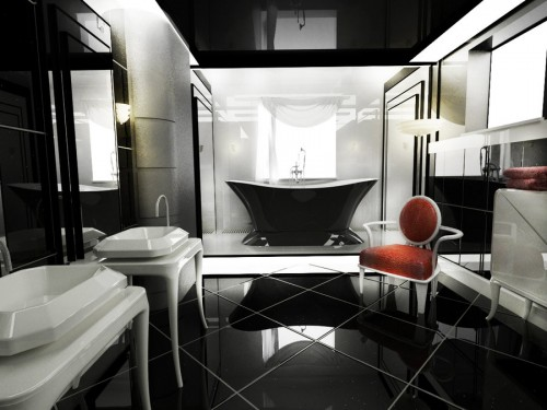 44_Modern Art Deco Bathroom