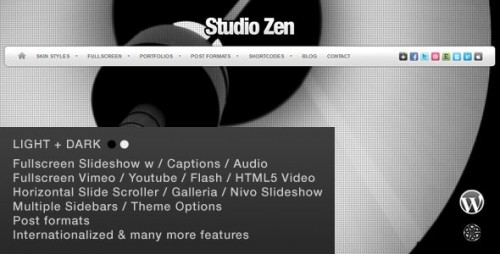 44_Studio Zen Fullscreen Portfolio WordPress Theme