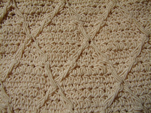 48_Ivory Silky Woven Texture