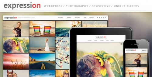 6_Expression Photography Responsive WordPress Theme