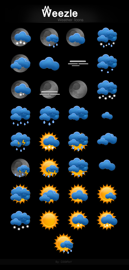7_Weezle - Weather Icons