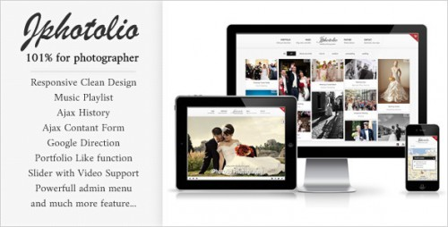 8_JPhotolio - Responsive Wedding Photography WP Theme