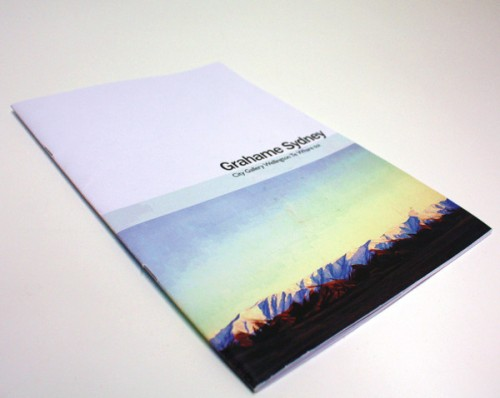 25_A Booklet Design For Grahame Sydney