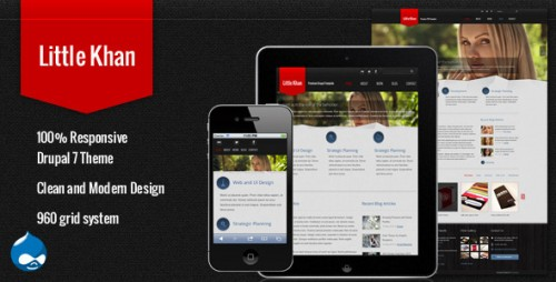 9_Little Khan - Responsive Drupal Theme