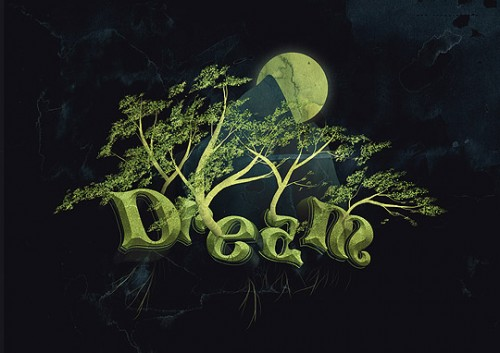 19_Create a Dream Design with 3D Typography